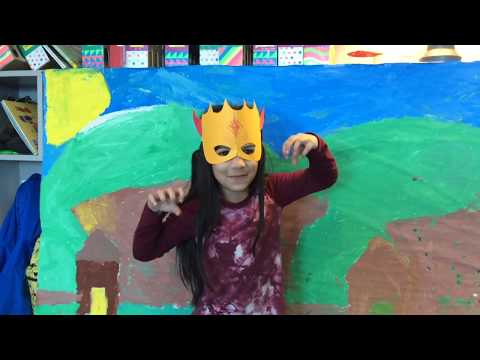 Peach Girl (Jenny Owens 2nd Grade Russell 2020)