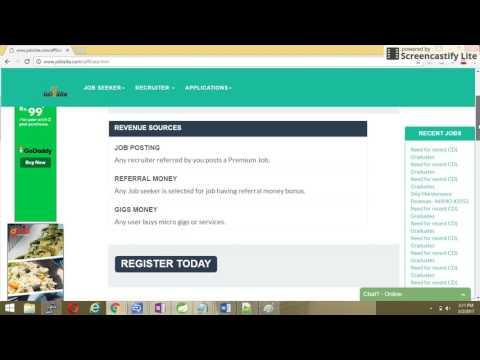 earn revenue with job board -jobisite.com