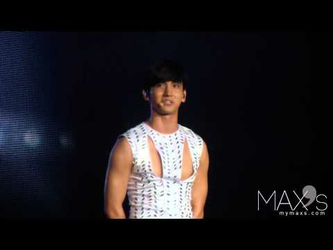 120818 SMTOWN LIVE IN SEOUL Changmin ment
