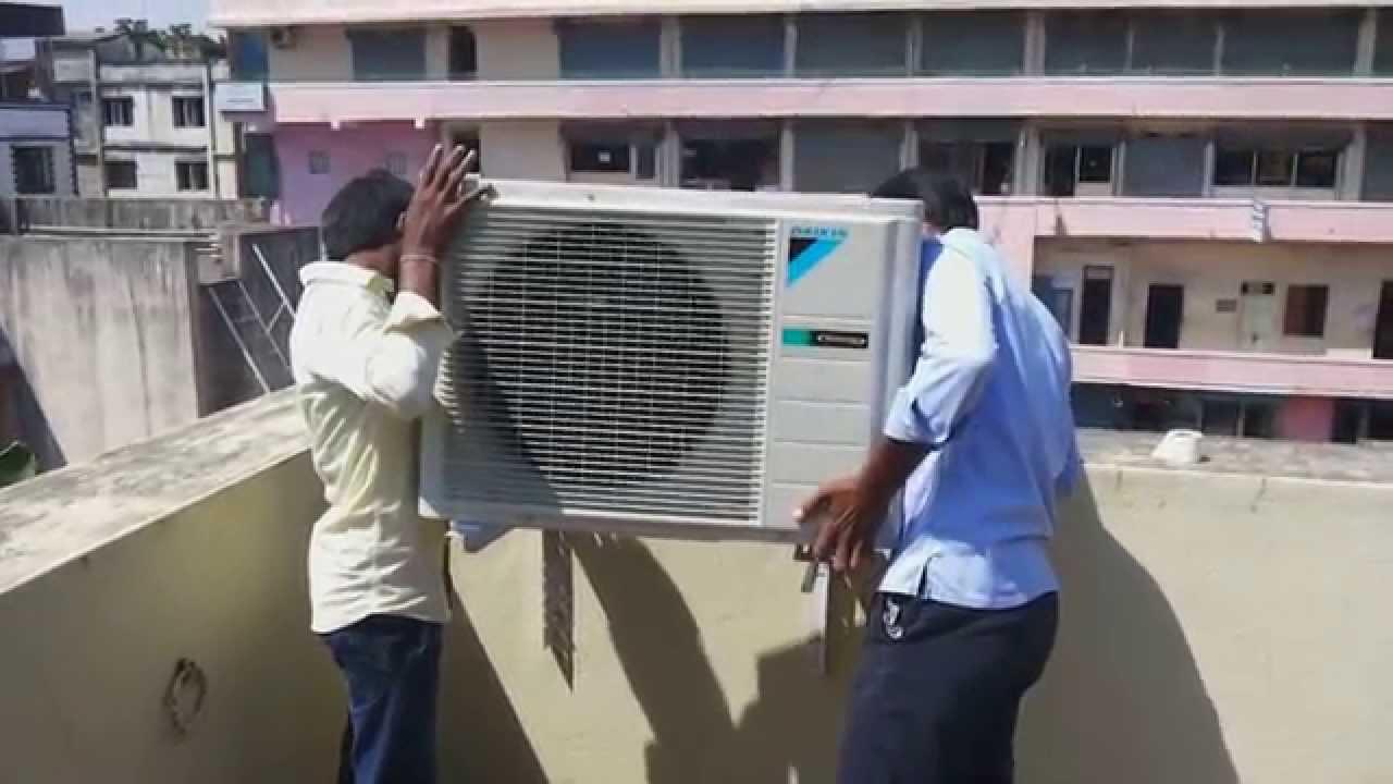 Ftks35evma Daikin Inverter A C Yr2014 Youtube Air Conditioner Wiring Diagram