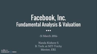 Download Video Stock Analysis and Valuation of Facebook, Inc. MP3 3GP MP4