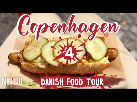 BEST PLACES TO EAT IN COPENHAGEN FOOD GUIDE | Trying Danish Food Tour
