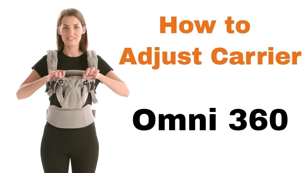 How Do I Adjust Baby Carrier Size Omni 360 Ergobaby