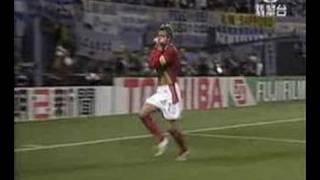 Repeat youtube video 攪笑球賽片段--伍晃榮報導英格籣勝阿根廷