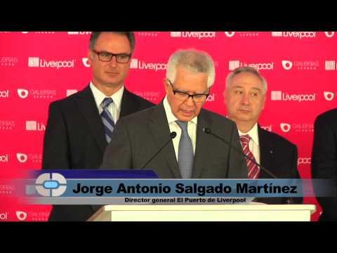 Inauguran plaza comercial 'Galerías Serdán' y nueva tienda Liverpool en Puebla / Noticias