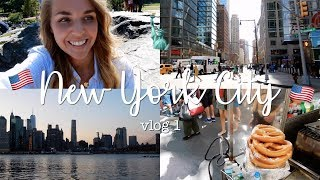 NYC VLOG DEEL 1 ♥ Central Park, Brooklyn Bridge Park + SHOPPEN! | CosmoGIRL!