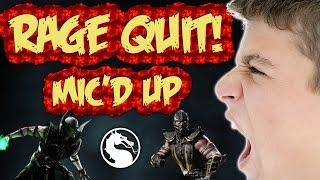 vuclip Kid Rage Quits On Mic | Mortal Kombat X
