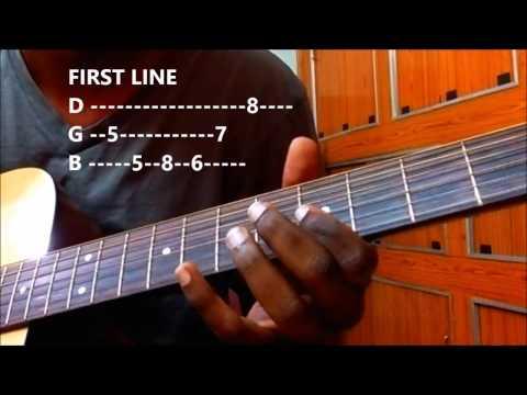 Yelo Yedarilo Vaana Song - katamarayudu | Guitar Intro Tabs Lesson for Beginners