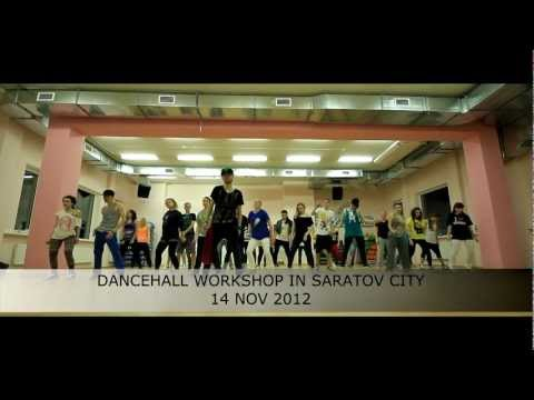 "Pasha Trutnev: Dancehall workshop in Saratov city (14 nov 2012) ""Save Mi Lawd"" choreo"