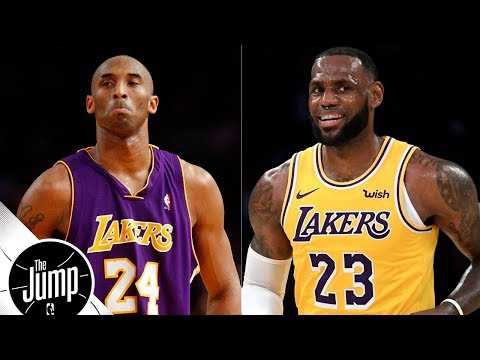 Do Kobe Bryant fans want LeBron James to fail on Lakers? | The Jump