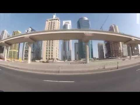 A Drive from Movenpick JLT to Dubai Marina and Back