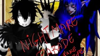 [MMD] (Creepypasta - Laughing Jack and Candy pop) Nightmare Parade [MEME]