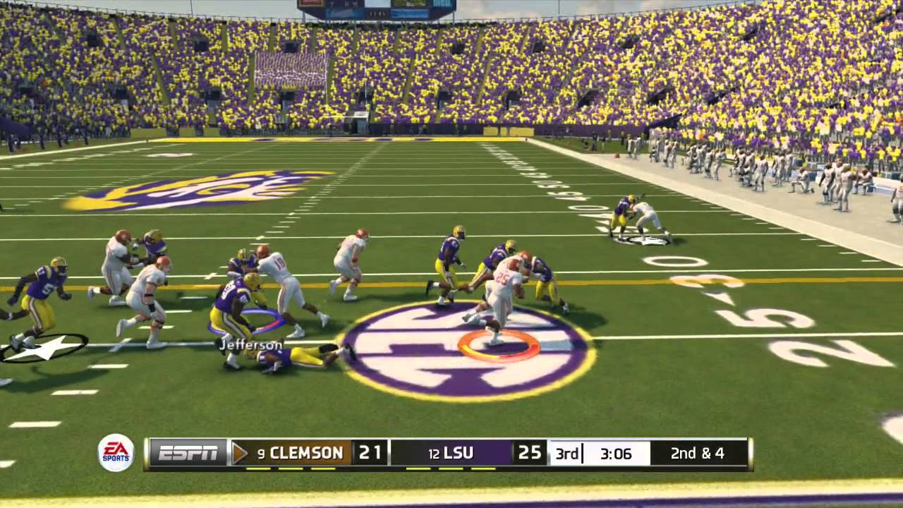 "14:MUST ENDING-""NCAA GAMEPLAY FOOTBALL  SEE 14"" NCAA ONLINE"