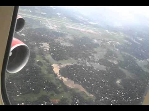 COCHIN [KOCHI]  INTERNATIONAL AIRPORT LANDING : NATURE OF KERALA