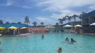 Cocoa Beach International Palms resort pool area