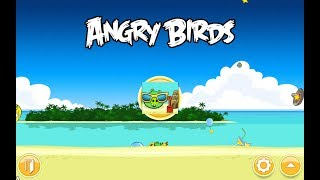 Angry Birds. Surf and Turf (level 7) 3 stars. Прохождение от SAFa