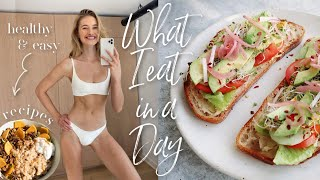 What I Eat in a Day // Easy Winter Recipes + cravings // Sanne Vloet