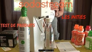 Sodastream test  produits les inities