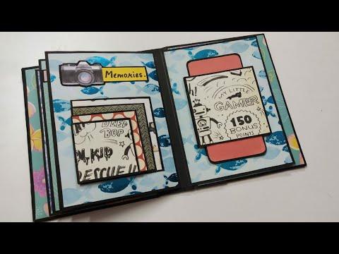 Scrapbook For Beginners | Scrapbook Tutorial | How To Make A Scrapbook | Scrapbook For Birthday