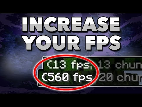 How To Get More FPS In Minecraft [2019] FPS BOOST