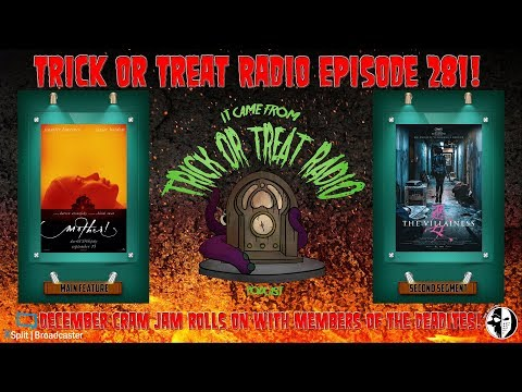 Trick or Treat Radio Episode 281 - Mother! & The  Villainess Film Discussion