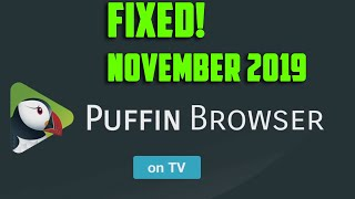 Puffin TV Android TV Download Error not supported download is not supported - UPDATED NOVEMBER 2019
