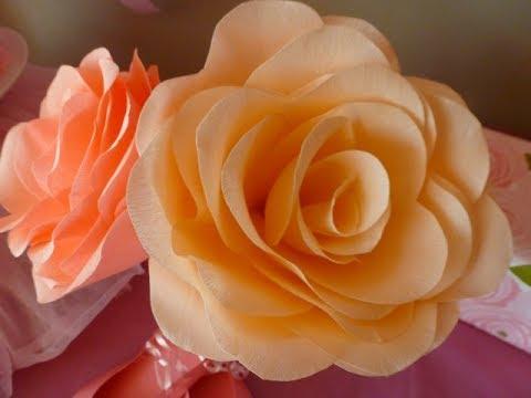Cara Membuat Bunga Mawar Dari Kertas Dengan Mudah Inicaraku Youtube