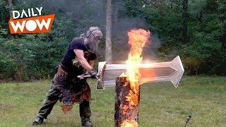 I Weld Giant Swords