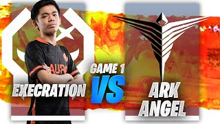EXECRATION vs ARKANGEL GAME 1 | JUICY LEGENDS TOURNAMENT