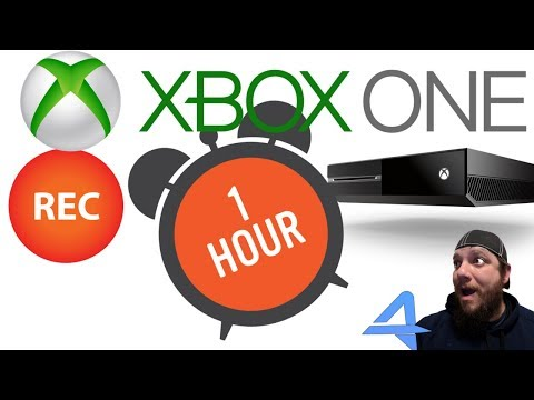 How to record for a FULL HOUR on Xbox One! (2018)