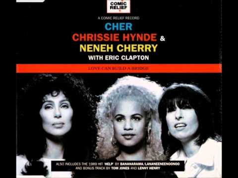 Cher, Chrissie Hynde & Eric Clapton - Love Can Build A Bridge Instrumental