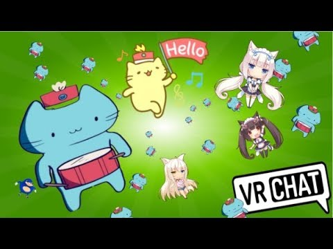 Cat Parade [VRCHAT] - vrchat Funny Moments