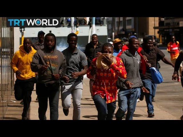 Zimbabwe Protests: Demonstrators defy protest ban in Harare