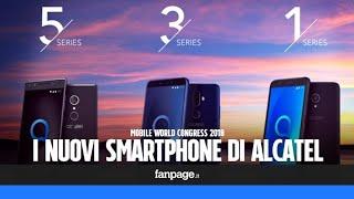 Alcatel Serie 5, 3 e 1: i nuovi smartphone presentati al Mobile World Congress