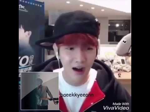 """Baekhyun reaction taeyeon MV """"11"""""""