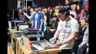 Moskvin vs Nick Brown Beatmaking Battle Final V1 Festival 2019