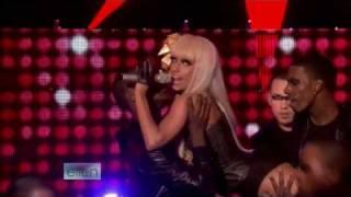 Lady gaga performing just dance on ellen degeneres show 2008