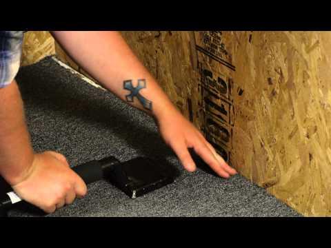 DIY: How to Lay Carpet - Laying your Carpet   FunnyDog.TV