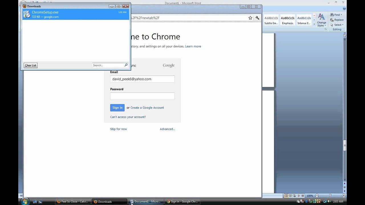 How to download Google Chrome for Windows Vista