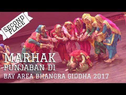 Marhak Punjaban Di - Second Place @ Bay Area Bhangra Giddha 2017