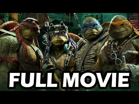 Teenage Mutant Ninja Turtles: Mutants in Manhattan FULL MOVIE 2016 ALL CUTSCENES [HD]