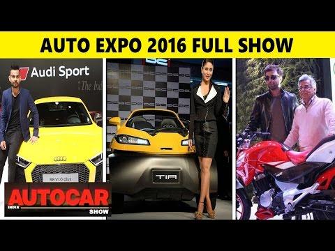 Auto Expo 2016 Full Show - Cars,SUVs and Bikes | Auto Show India