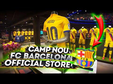 FC Barcelona Official Store Camp Nou Megastore