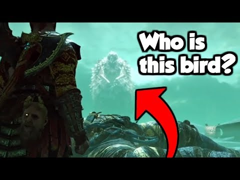 Who Is The Mysterious Bird in Helheim?  - Exploring The Mythology Behind God of War 4 (SPOILERS)