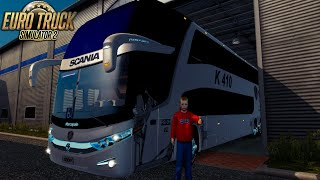 Marcopolo G7 6x2 v4 + Pasajeros l Euro Truck Simulator 2 1.22-1.21