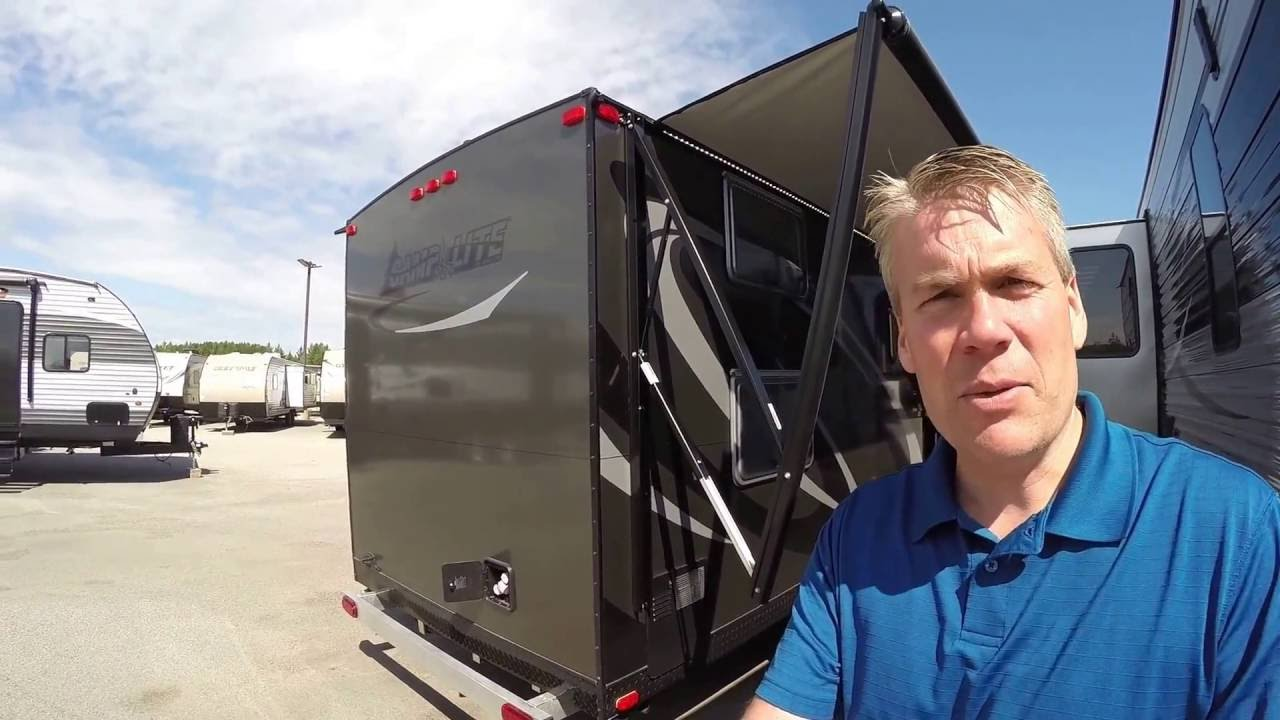 2017 Livin' Lite Camp Lite 21BHS Bunk House Travel Trailer only 4,058  Pounds!