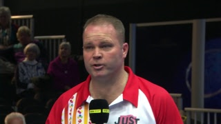Just. 2019 World Indoor Bowls Championships: Day 12 Session 1 - PAIRS FINAL!