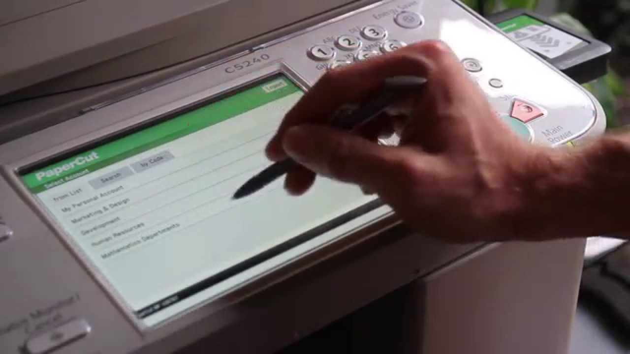 PaperCut MF - print, copy and cost control for Canon Multifunction