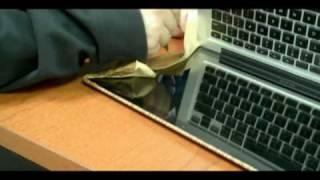 Di-noc Wood Grain Macbook Pro