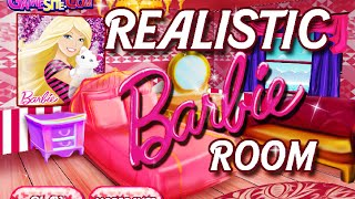 Girl Games- Realistic Barbie Room- Free Online Barbie Design Games- Kids Games